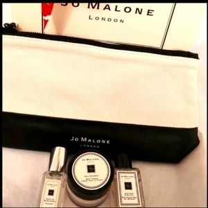 Jo Malone Scent sampler & cosmetic bag Brand new!!